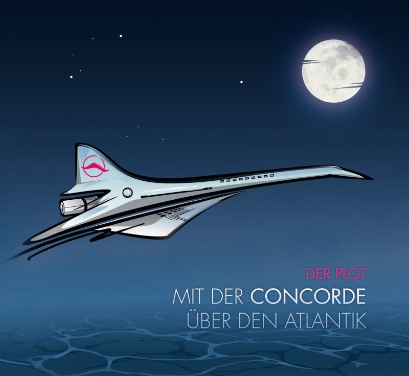 Der Plot - Mit der Concorde über den Atlantik