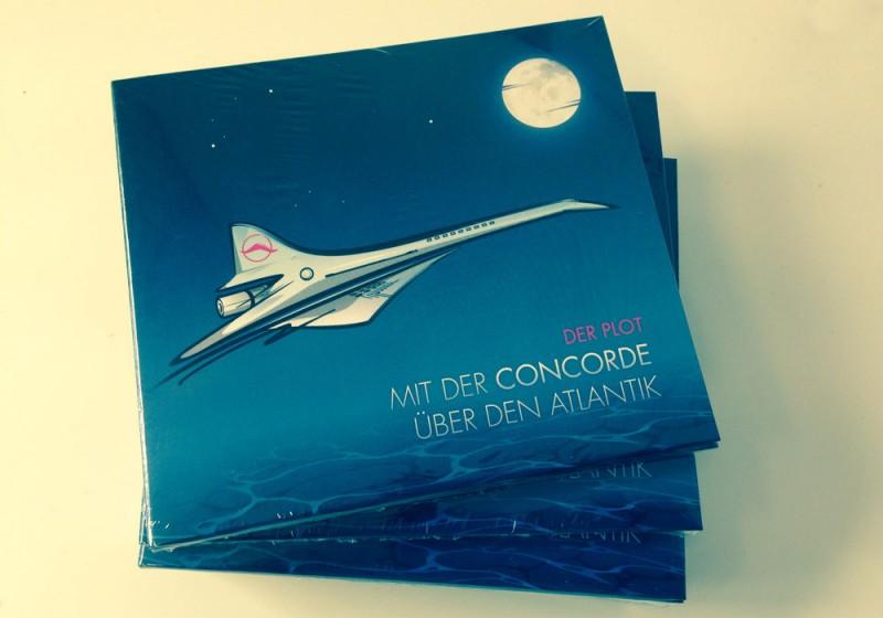 Ein Haufen Mit der Concorde über den Atlantik